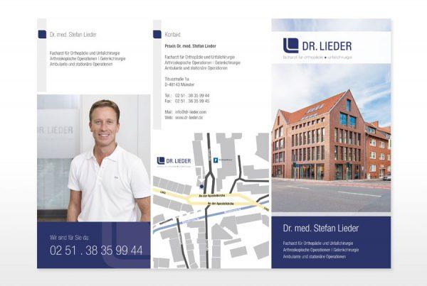 Design Faltblatt