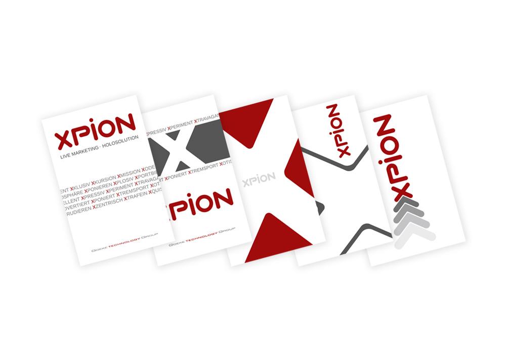 Design Visitenkarte Werbagentur