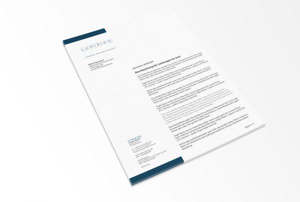 Design Briefpapier