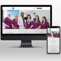 Neue Webseite für HNO Praxis Laurensberg in Aachen - Responsive